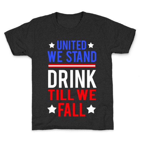 United We Stand Kids T-Shirt