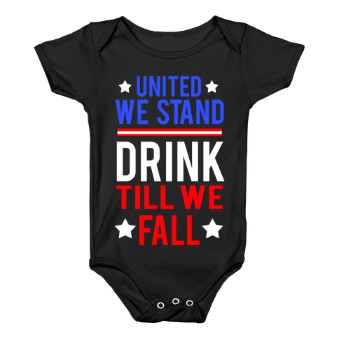 United We Stand Baby Onesy