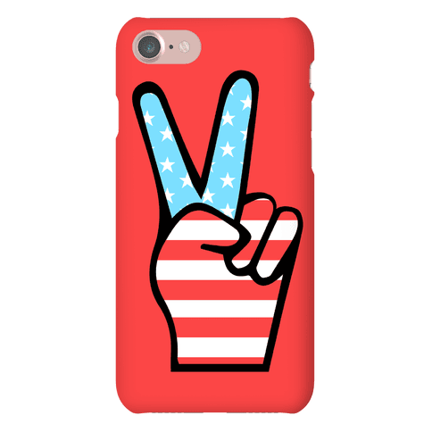 Peace Man Phone Case