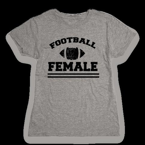 Football Female Womens T-Shirt