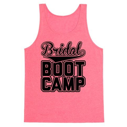 Bridal Boot Camp Tank Top