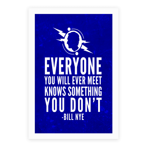 Everyone You Will Ever Meet Knows Something You Don't Poster