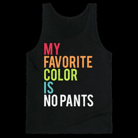 Favorite Color Tank Top