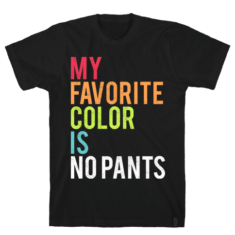 Favorite Color Mens T-Shirt