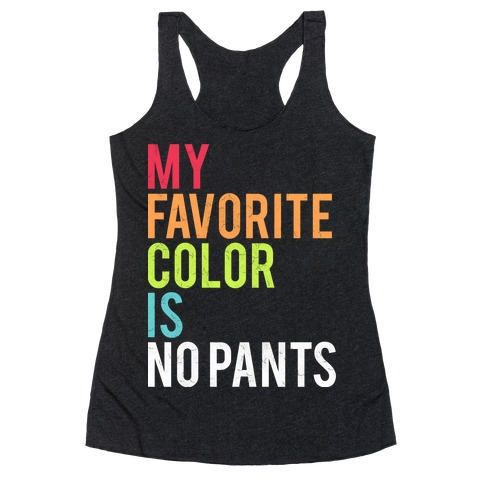 Favorite Color Racerback Tank Top