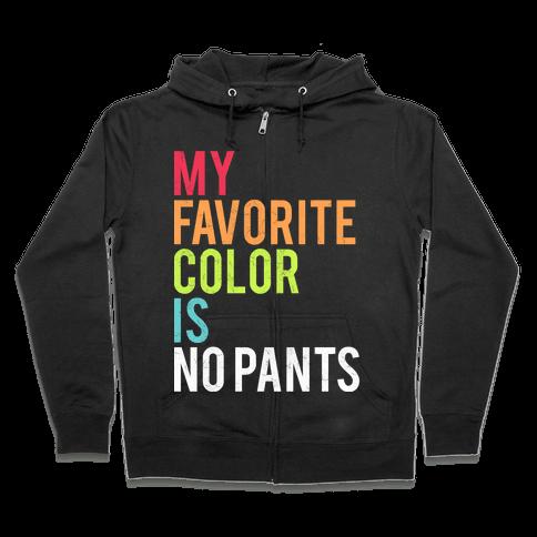 Favorite Color Zip Hoodie