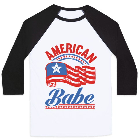 American Babe Baseball Tee