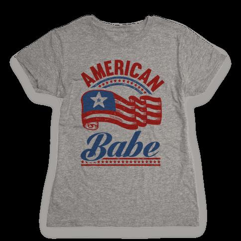 American Babe Womens T-Shirt