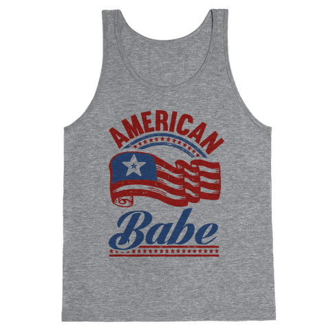 American Babe Tank Top