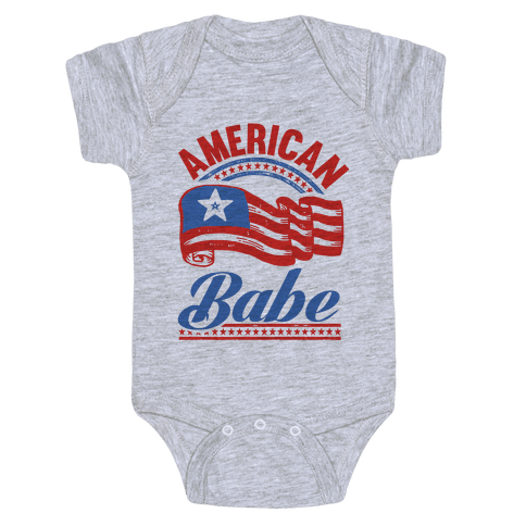 American Babe Baby Onesy