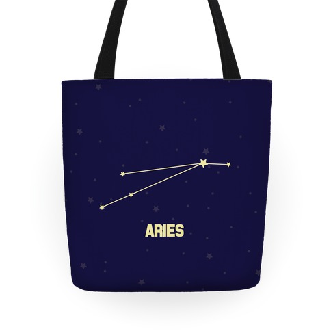 Aries Horoscope Sign Tote