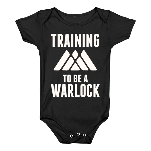 Training To Be A Warlock Baby Onesy