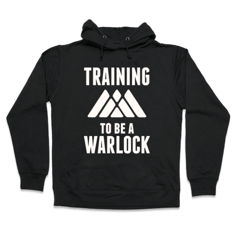 Training To Be A Warlock Hooded Sweatshirt