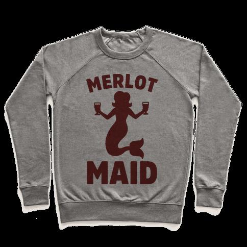 Merlot Maid Pullover
