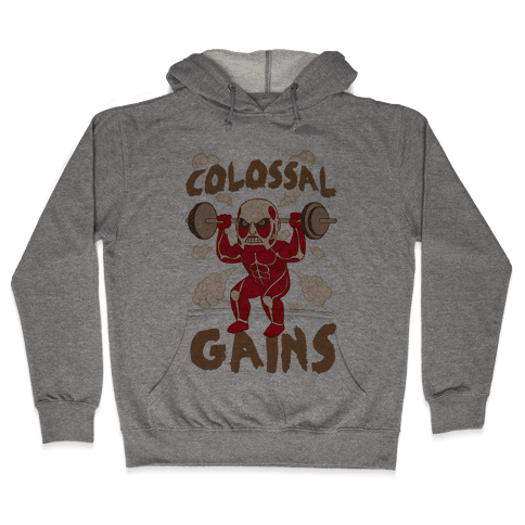 Colossal Gains (AoT) Hooded Sweatshirt