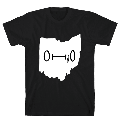 Ohio Looks Concerned Mens T-Shirt