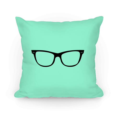 Mint Large Glasses Pillow