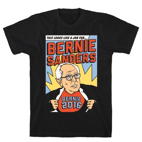Super Hero Bernie Sanders 2016 T-Shirt