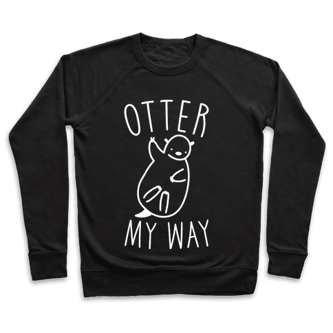 Otter My Way Pullover