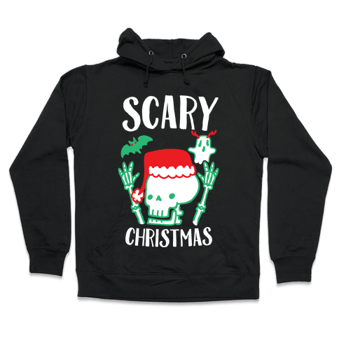 Scary Christmas  Hooded Sweatshirt