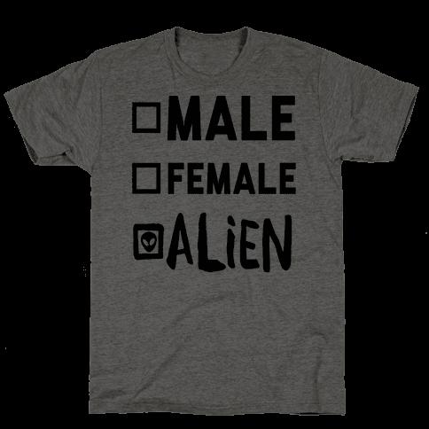 Male Female Alien
