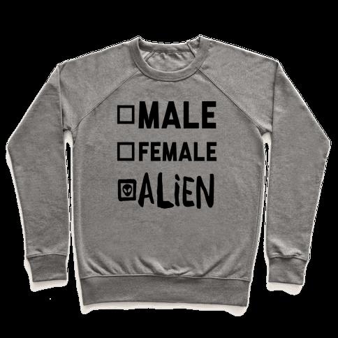 Male Female Alien Pullover