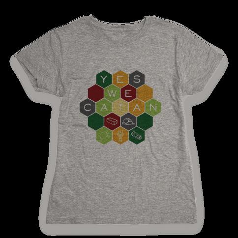 Yes We Catan Womens T-Shirt
