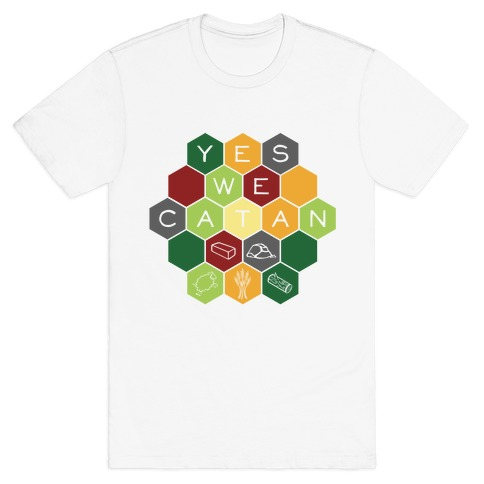 Yes We Catan Mens T-Shirt