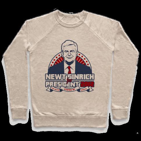 Newt Ginrich for President 2012 Pullover