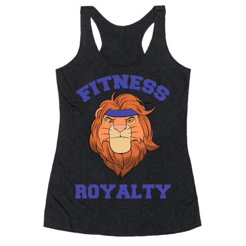 Fitness Royalty Racerback Tank Top