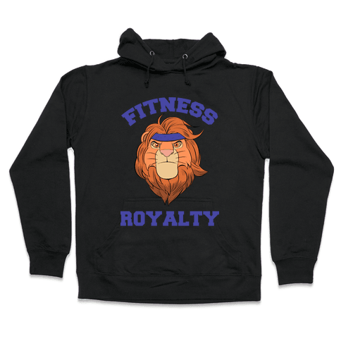 Fitness Royalty Hooded Sweatshirt