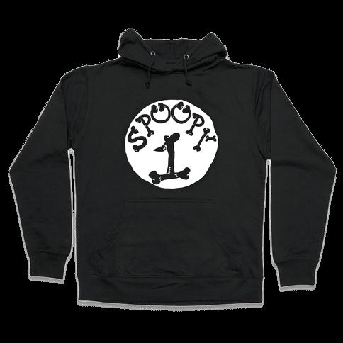 Spoopy 1 Hooded Sweatshirt