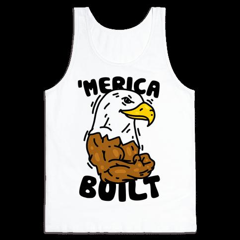 'Merica Built Tank Top