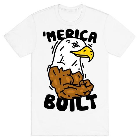 'Merica Built Mens/Unisex T-Shirt