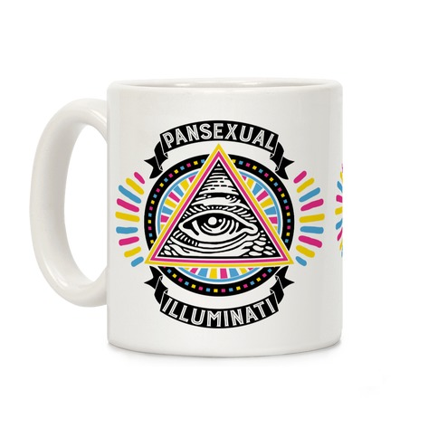 Pansexual Illuminati Coffee Mug