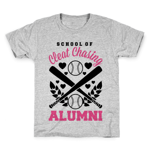 School Of Cleat Chasing Alumni Kids T-Shirt