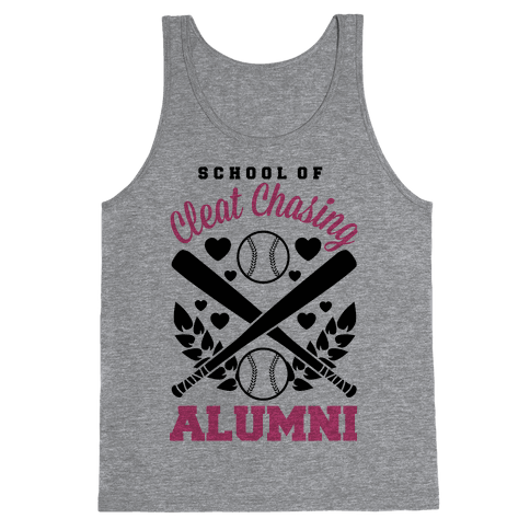 School Of Cleat Chasing Alumni Tank Top