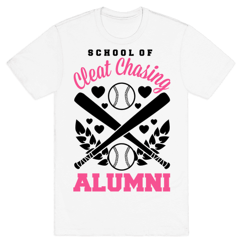 School Of Cleat Chasing Alumni Mens T-Shirt