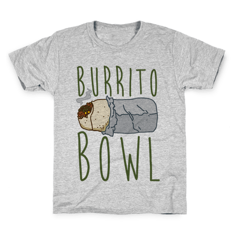 Burrito Bowl Kids T-Shirt