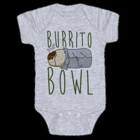 Burrito Bowl Baby Onesy