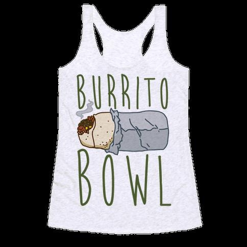 Burrito Bowl Racerback Tank Top