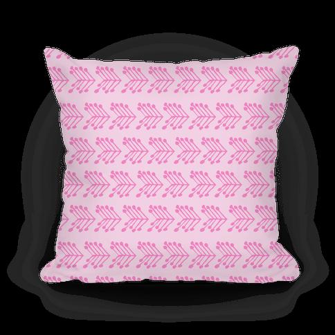 Pink Cute Chevron Pattern
