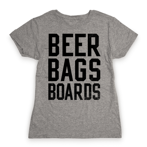 Cornhole Womens T-Shirt