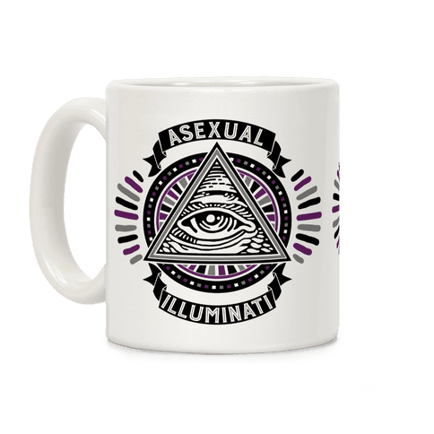Asexual Illuminati Coffee Mug