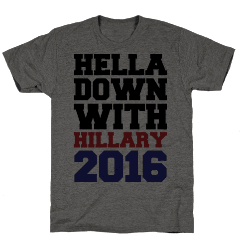 Hella Down with Hillary