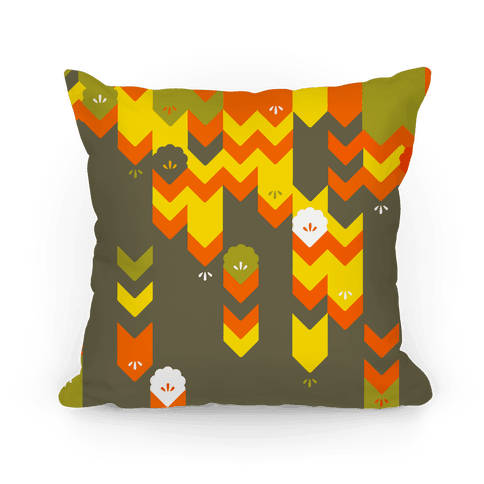 Fall Sweater Pattern Pillow