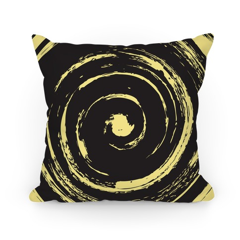 Brush Swirl Pillow Pillow