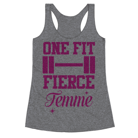 One Fit Fierce Femme Racerback Tank Top