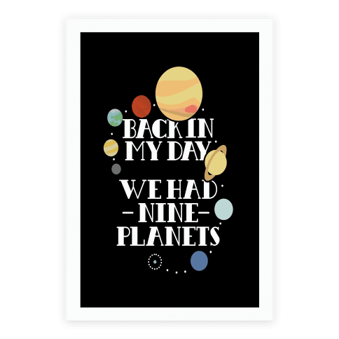 Nine Planets Poster