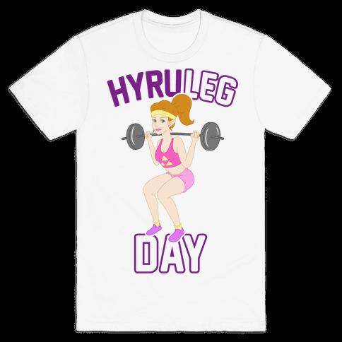 HyruLEG DAY Mens T-Shirt